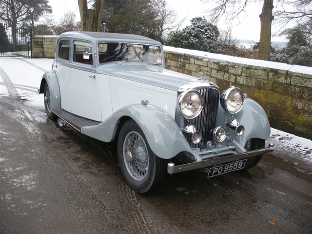 1934 Bentley - Park Ward Sports Saloon