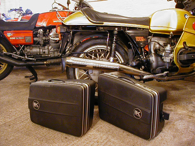 BMW R100RS Luggage / Krausers