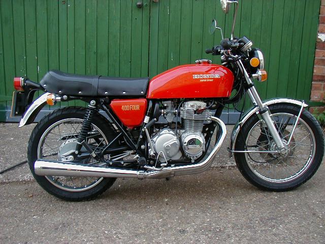honda cb400 four. Honda CB400