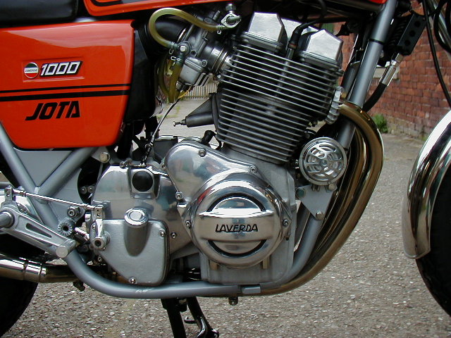 1979 Jota Engine Detail