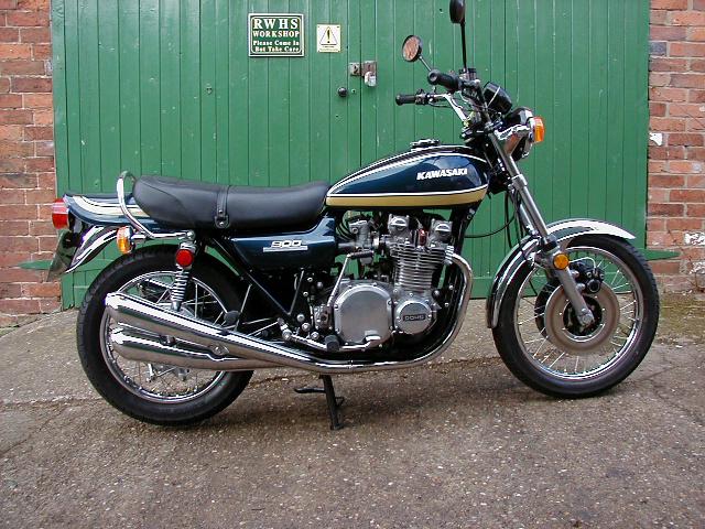 1974 Kawasaki Z1B 900