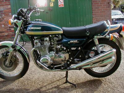 1975 Kawasaki Z1B 900 UK specification