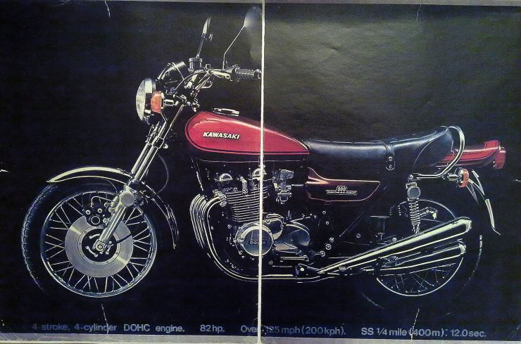 1972 Kawasaki  Z1 Super4  European Specification