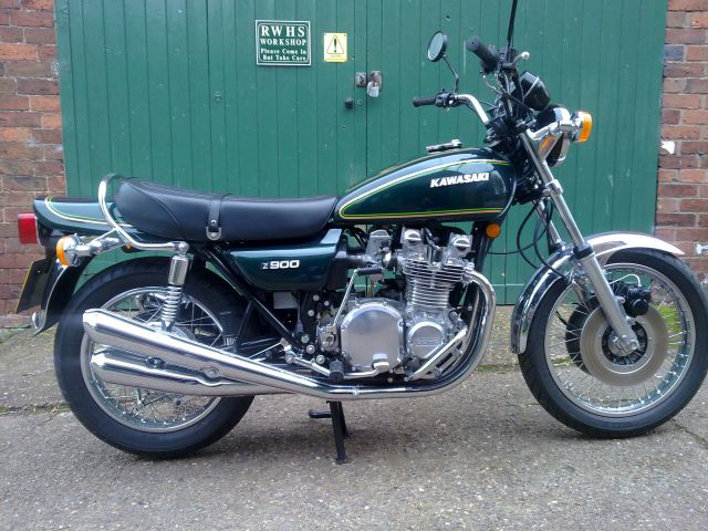 1976 Kawasaki Z900A4 UK Specification
