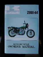Z900A4 Owners Hand Book